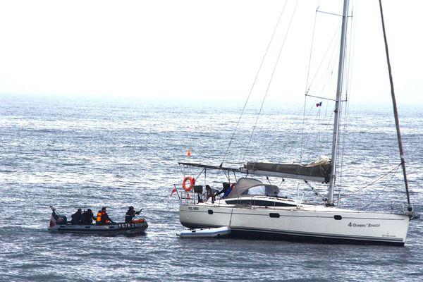 un voilier polonais secouru en Manche