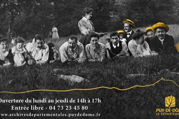 A Clermont-Ferrand, les archives départementales du Puy-de-Dôme proposent, jusqu'au 9 novembre 2017, de plonger dans leurs collections ciné-photographiques.