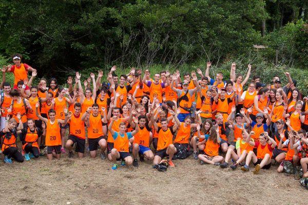 Les participants du Raid Oxy'jeunes 2016