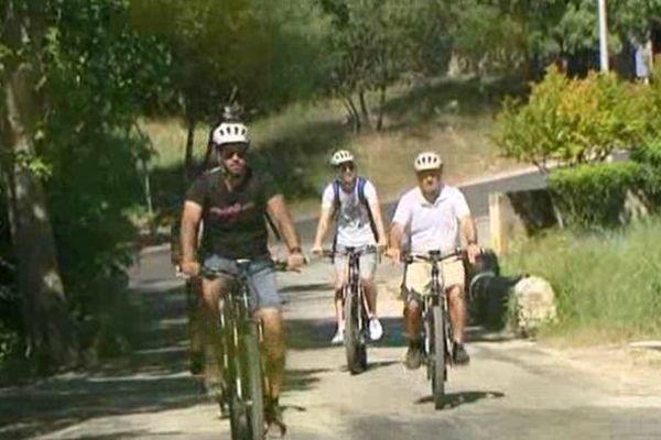 Du vélo sans trop forcer, merci la fée électricité!