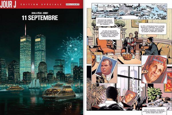 Jour J, 11 septembre, par Duval, Pécau, Blanchard et Kordey. Delcourt.