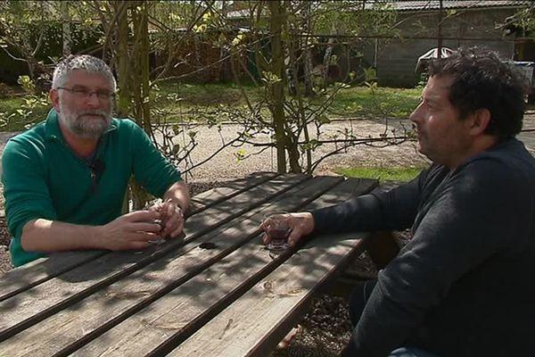 Jean-Loïc et jean-Yves, salariés des Fonderies du Poitou