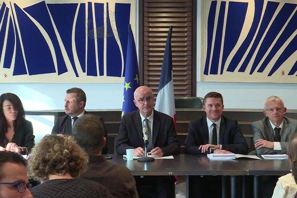 Lors d'une conférence de presse, la Chambre régionale des comptes a voulu répondre aux accusations de Jean-Claude Gaudin, au sujet des rapports sur la gestion de la ville entre 2012 et 2017.