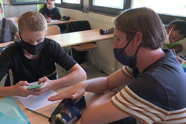 Les classes SEGPA font la part belle à l'échange et à un traitement individuel des explications du professeur.