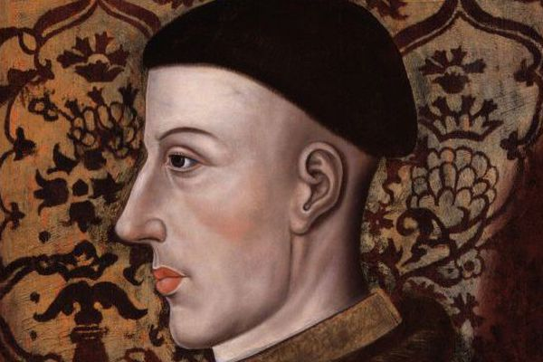 Henry V, ambitieux roi d'Angleterre, va profiter des divisions françaises.