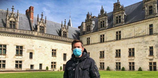 Le château d'Amboise s'assure d'avoir assez de masques
