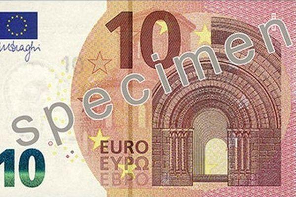 Le nouveau billet de 10 euros mis en circulation à partir du 23 septembre
