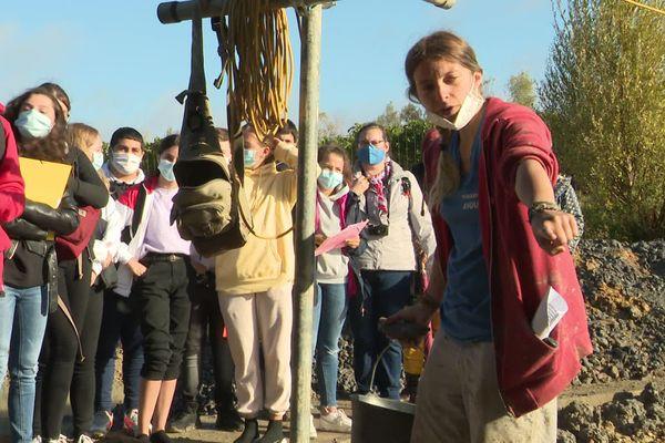 Les visites scolaires ont repris sur le site archéologique d'Angeac-Charente