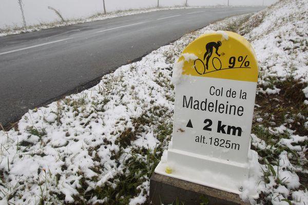 Le col de la Madeleine et les derniers grands cols de Savoie ferment pour l'hiver. (Archive)