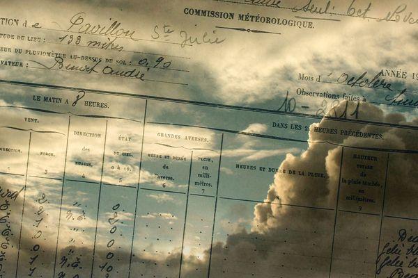 Cartes de météorologue
