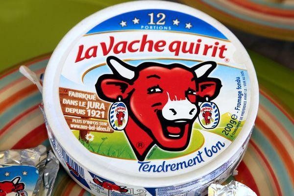 L'ancien logo de La Vache qui rit