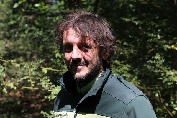 Nicolas Jannault, de l'Office National des Forêts, a suivi l'ensemble du chantier et des opérations de débardage