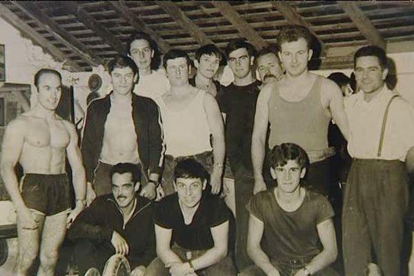 Club d'haltérophilie de Dreux en 1964