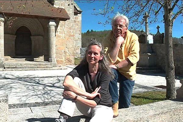 Jean-Yves Labat de Rossi et Anne Dieumegard à Saint-Avit-de-Tardes en Creuse