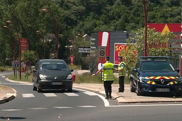 Les gendarmes de l'Hérault font de la prévention suite à la mise en place des 80km/h le 1er juillet 2018