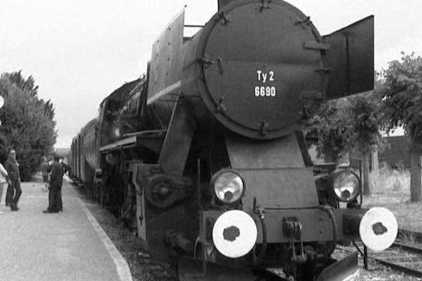 Ce train à vapeur a été relancé il y a quelques mois.