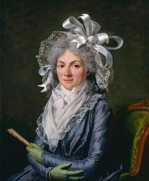 Félicité de Genlis a produit une oeuvre multiforme. Portrait par Adélaïde Labille-Guiard (1790).