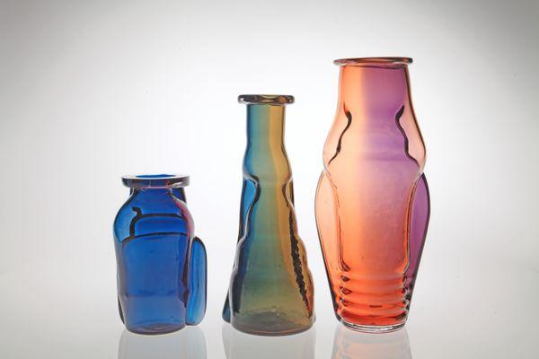 Kareotypes Freaks ou la fabrique des chimères, série de vases réalisée par le créateur Réjean Peytavin en collaboration avec le CIAV