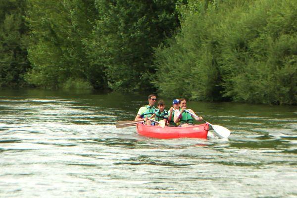 Des niveaux d'eau inhabituellement hauts pour la saison peuvent gêner la pratique du canoë