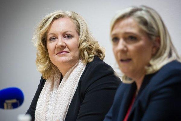 Sophie Montel et Marine Le Pen