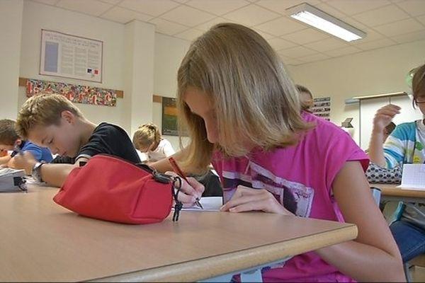 La rentrée scolaire en 2012