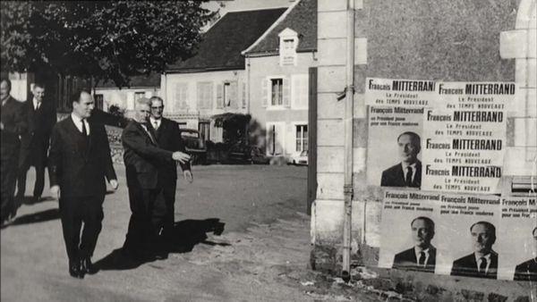 Campagne d'affichage pour l'élection présidentielle de 1974