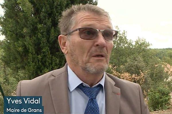 Grans (Bouches-du-Rhône) : le maire ne décolère pas suite à la condamnation du tribunal administratif.