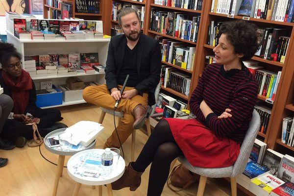 Alice Zeniter, Prix Goncourt des lycéens 2017, a rencontré ce samedi ses lecteurs à Alençon, la ville de son enfance