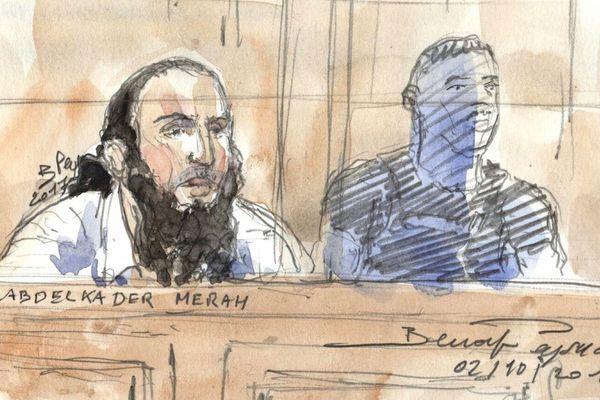 Abdelkader Merah, dans le box des accusés