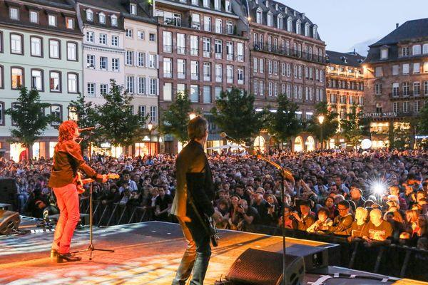 L'édition 2013 de la Fête de la musique à Strasbourg.