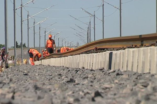 200 personnes ont visité le chantier du contournement ferroviaire Nîmes-Montpellier - 27 juin 2016