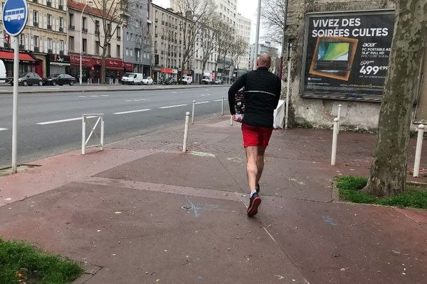 Pascal, parti courir.
