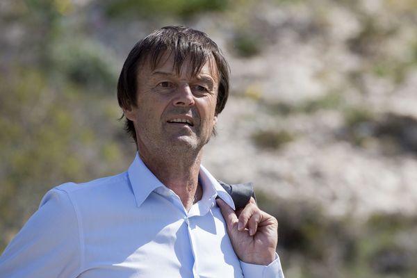Archives - Le ministre de la Transition écologique et solidaire Nicolas Hulot.