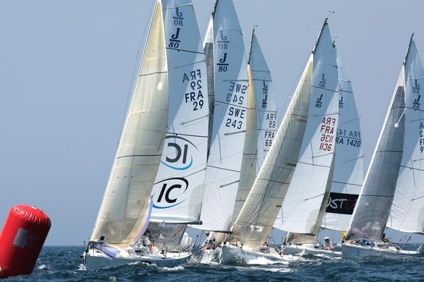 Championnat du Monde de J80 - photo Pierick Jeannoutot