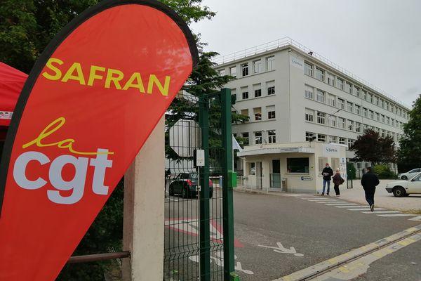 Grève à Safran Dijon le 26 mai 2021