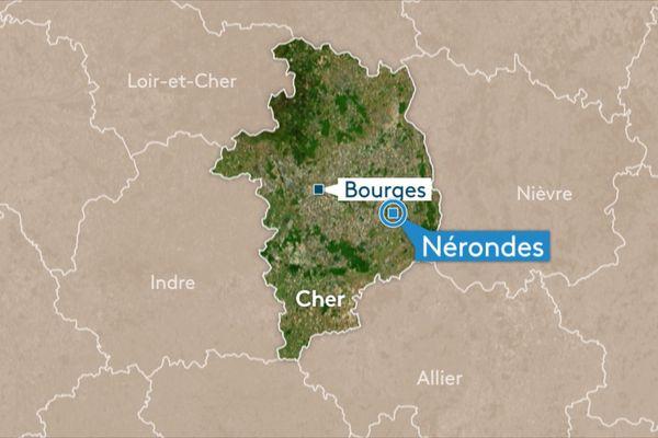 Une classe du rez-de-chaussée de l'école primaire de Nérondes a pris feu vendredi 22 mars.
