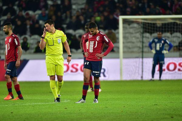 Les Lillois dépités avec la gifle reçue par Troyes samedi soir à domicile.