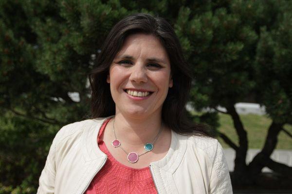 Virginie Rozière, tête de liste PS-PRG