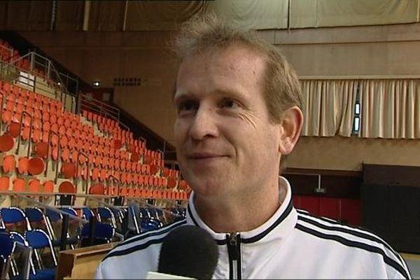 Ulrich Chaduteaud, le nouvel entraîneur du DBHB