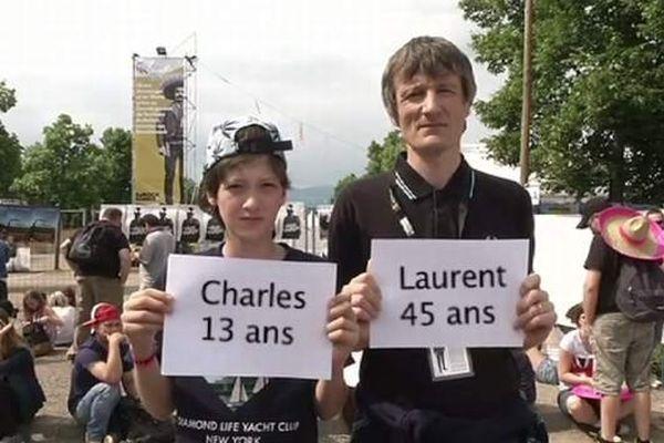Fans des Eurocks de père en fils