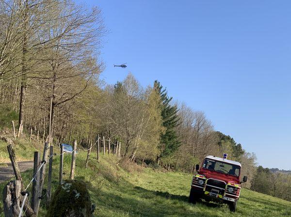 incendie du dimanche 5 avril à Bassignac-le-Bas