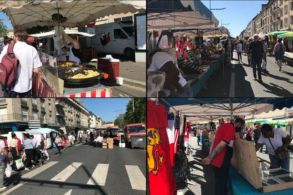 Le marché Saint-Pierre ce dimanche à Caen