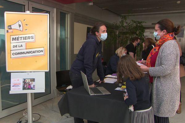 Un forum stages de 3ème avait lieu ce samedi 16 octobre à Evreux.