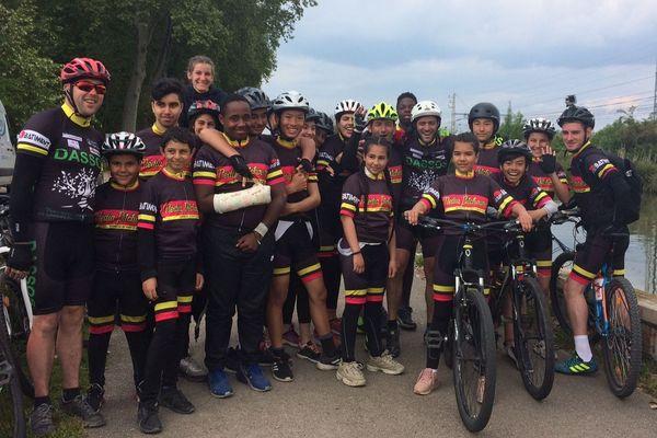 Les Médias Pitchounes, de retour à Toulouse après 1000 kilomètres à vélo