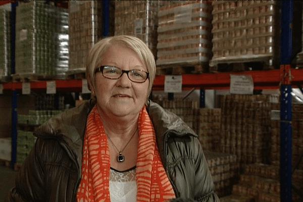 Marie-Françoise Javaudin, présidente des Restos du Coeur d'Ille-et-Vilaine