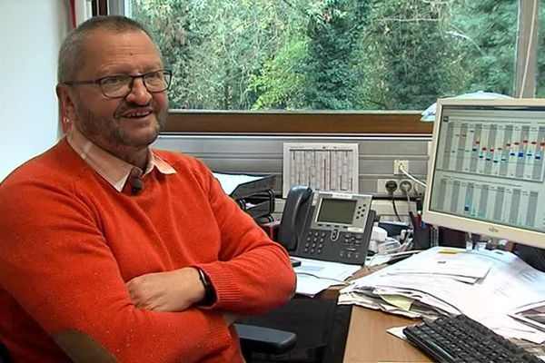 Serge Taboulot, prévisionniste à MétéoFrance
