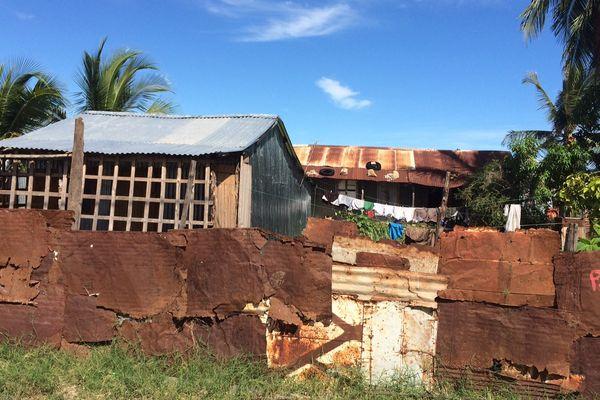 Maison en taule à Majunga