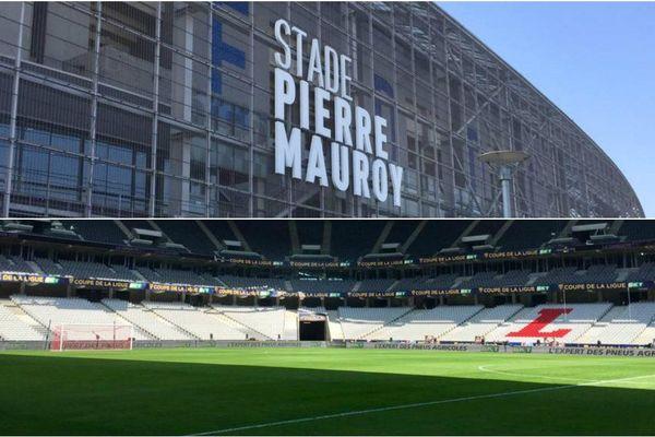 En mode football, le capacité d'accueil du stade Pierre Mauroy de Lille frôle les 50.000 spectateurs.