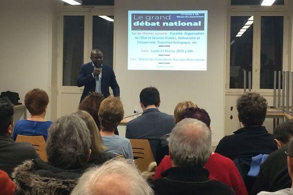 A Gerzat, dans le Puy-de-Dôme, une réunion locale du Grand débat national était organisée lundi 11 février, à la Maison des associations.