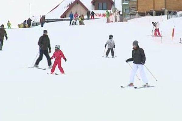 Les skieurs étaient au rendez-vous